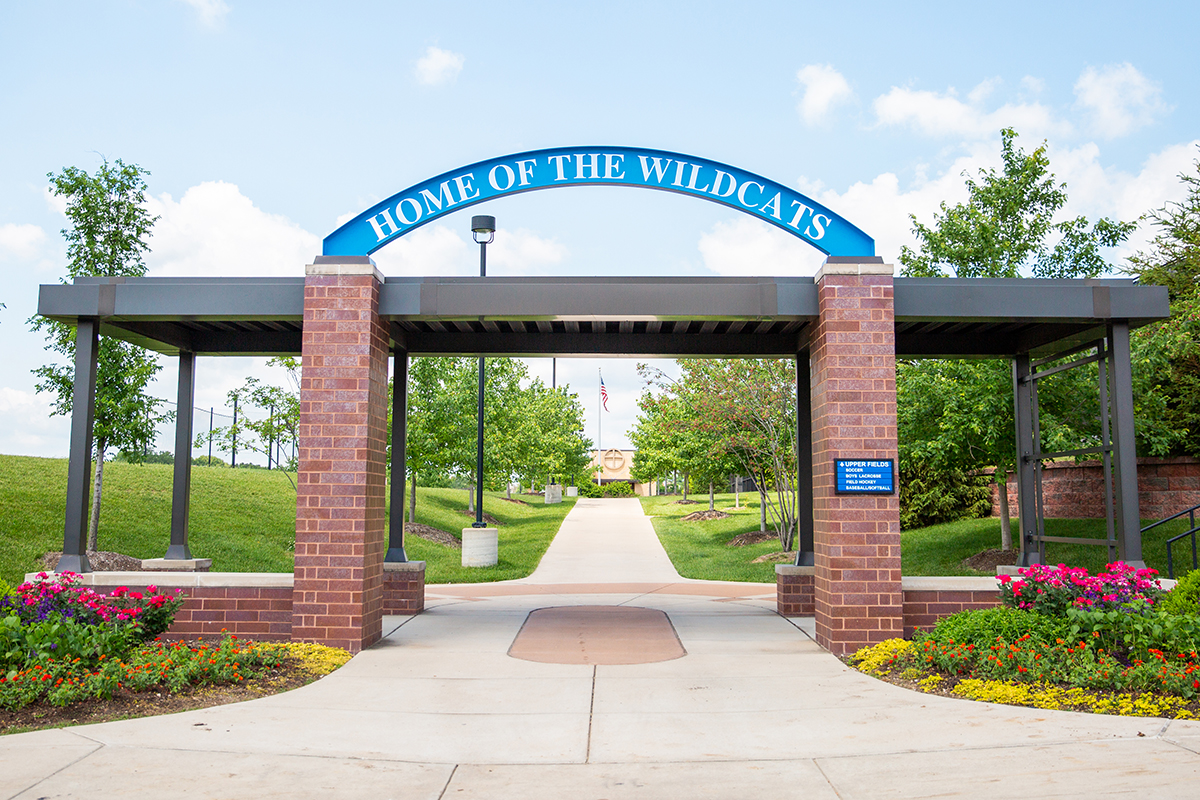 home-of-the-wildcats-sign